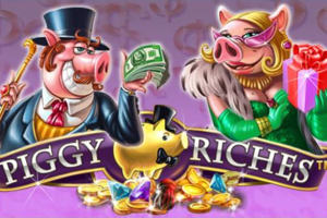 Piggy Riches casino game logo