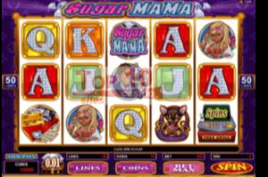 sugar mama slot bonus
