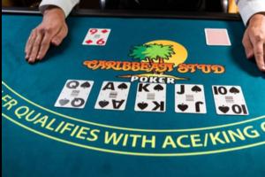Denken Sie an Stud Poker abzüglich des Bluffens und der Zeit, die Sie am Spiegel verbringen, um Ihr Pokerface zu üben und Sie erhalten Caribbean Stud Poker