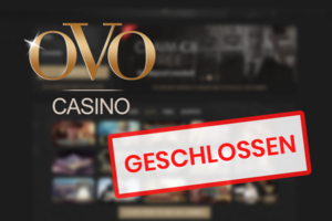 ovo casino closed