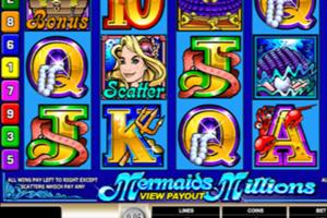mermaids million slot