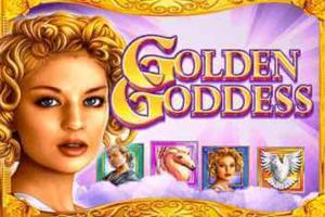 golden godess slot mobile logo